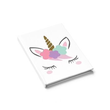 Unicorn Journal  Ruled Line, Personalized Journal, Custom Journal, Writing Journal, Diary, Notebook, Gift for Book Lovers, blank books