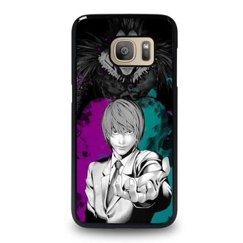 light and ryuk death note samsung galaxy s7 case cover  number 1