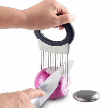 Stainless Steel Kitchen Gadget Kitchen Cooking Tool Vegetable Onion Cutter Slicer Peeler Chopper Shredder