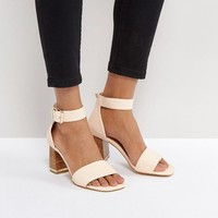 ASOS TREE TOP Heeled Sandals at asos.com