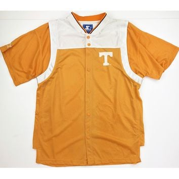 Adult Vintage UT Starter Button Up Warmup Jersey Tearaway Sleeves
