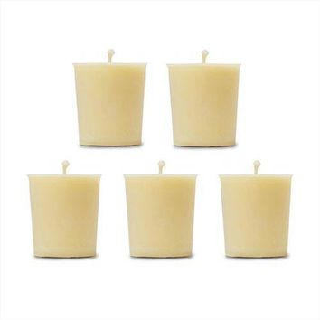 Very Vanilla Scented Handmade Soy Candles – 5 Pack