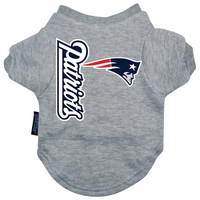 New England Patriots Dog Tee Shirt - Large