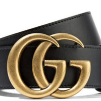Gucci Bronze Gg Buckle Belt