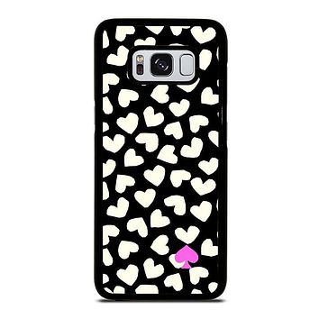 KATE SPADE LOVE HEART POLKADOTS Samsung Galaxy S8 Case Cover