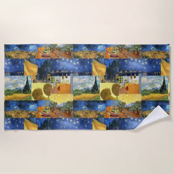 Van Gogh Dream Paintings Art Beach Towel