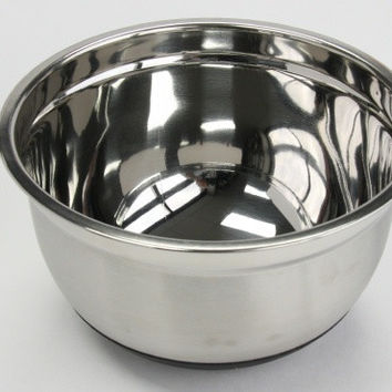 5 qt. stainless steel mixing bowl Case of 3