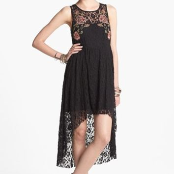Free People 'Russian Nesting Doll' High/Low Dress | Nordstrom