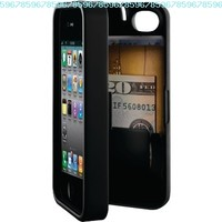 EYN (Everything You Need) Smartphone Case for iPhone 4/4s - Black (eynblack):Amazon:Cell Phones & Accessories