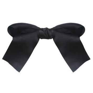 Women Girls Cute Large Big Satin Hair Hair Clip Boutique Ribbon Bow BK