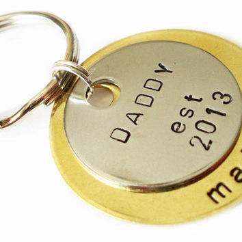 FATHERS DAY GIFTS, KEYCHAIN, CUSTOM, PERSONALIZED