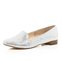 Silver glitter slipper shoes - loafers / pumps - shoes / boots - women