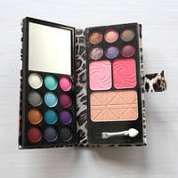 Quality 12Color Makeup palette Eye Shadow Warm Color Glitter eyeshadow FINe