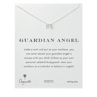 """Dogeared Guardian Angel Wings Sterling Silver Reminder 16"""" Boxed Necklace"""