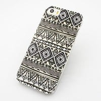 Plastic Case Cover for iPhone 5 5S 5C 6 6Plus (Pick One) OVO Triangle mayan tribal ethnic dreamcatcher american indian