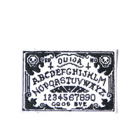 Hollywood Mirror Ouija Yer Mind Patch White One