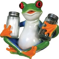 Salt & Pepper Shaker Set - Tree Frog