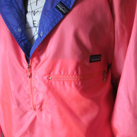 Reversible Purple Pink Patagonia Jacket light weight Jacket Vintage Patagonia Pink Jacket Purple Jacket sz L Patagonia Hiking Jacket Boating