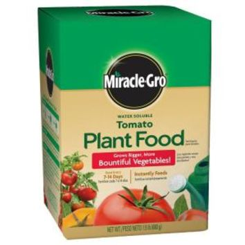 Miracle-Gro, 1.5 lb. Tomato Plant Food, 2000421 at The Home Depot - Mobile