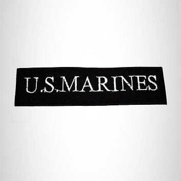 U.S MARINES Iron on Small Patch for Motorcycle Biker Vest SB1099