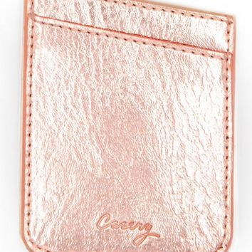 The Casery Phone Pocket - Rose Gold