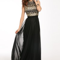 Sleeveless Chiffon Dress 20606 - Prom Dresses