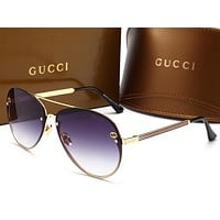 GUCCI New fashion man and woman sunglasses L-HWYMSH-YJ