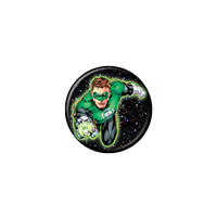 Green Lantern Hal Jordan In Space Button