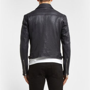 Burberry Brit - Full-Grain Leather Jacket | MR PORTER
