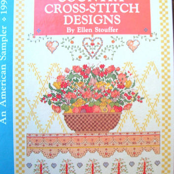 Best vintage cross stitch patterns products on wanelo for Country living magazine cross stitch