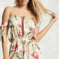 Floral Cover-Up Romper