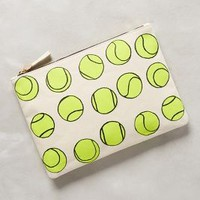 Clare V All-Court Pouch Yellow All Clutches