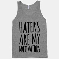 Haters Are My Motivators (tank)