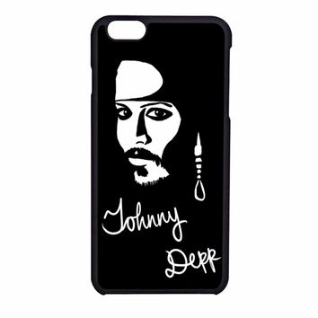 Johnny Depp iPhone 6SS Case