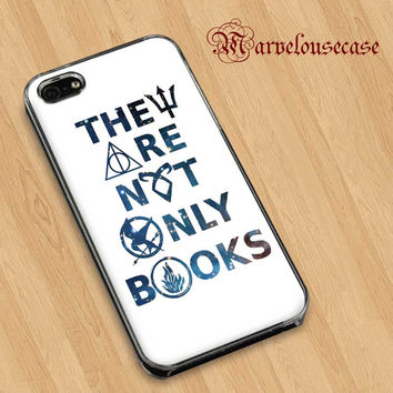 They Are Not Only Books Custom case for all phone case