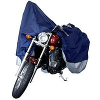 Dallas Manufacturing Co. Motorcycle Cover - Large - Model A Fits Models Up To 1100Cc With Or Without Accessories