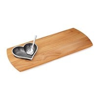 Love on Board | Wooden serving board, Serving board