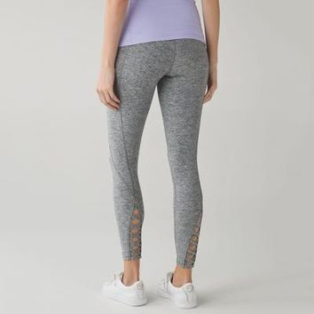 Lululemon Crisscross High Waist Sport Leggings Pants Trousers