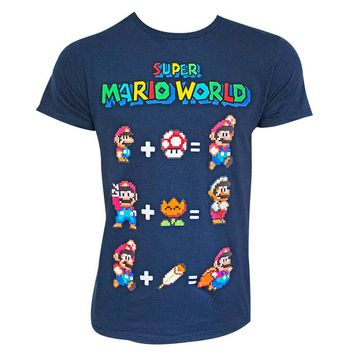 Super Mario World Equation Shirt