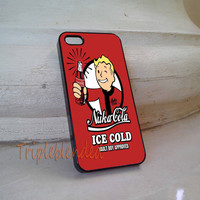 Nuka Cola Ice Cold iPhone 5C Case, iPhone 5/5S Case, iPhone 4/4S case, Samsung Galaxy S3/S4, Samsung Galaxy S5 Case Cover