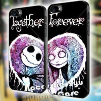 The Nightmare Before Christmas Together Forever Love Couple iPhone Case And Samsung Galaxy Case