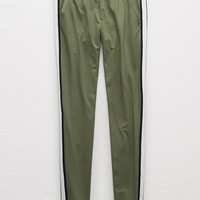 Aerie Warm-Up Pant, Olive Fun