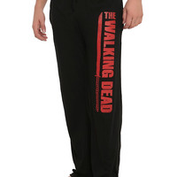 The Walking Dead Katana Logo Guys Pajama Pants