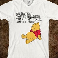 Funny Pooh Bear Shirt - Lemon Drop Lane