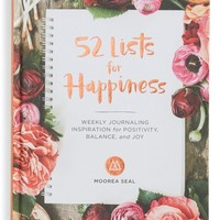 '52 Lists for Happiness' Journal | Nordstrom