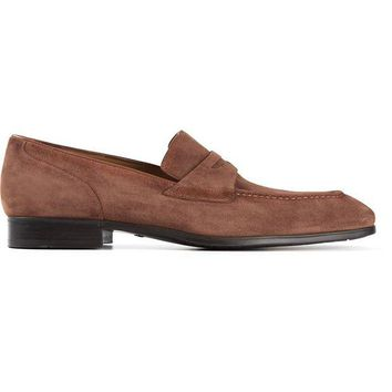 ONETOW Santoni classic penny loafers