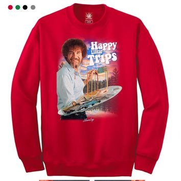 Happy Little Trips Crewneck Sweatshirt