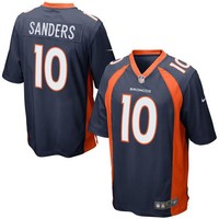 Mens Denver Broncos Emmanuel Sanders Nike Navy Blue Alternate Game Jersey