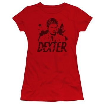 Dexter - Splatter Dex Premium Bella Junior Sheer Jersey