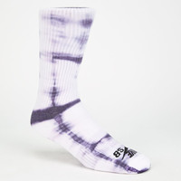 Nike Sb Tie Dye Mens Dri-Fit Crew Socks White/Black One Size For Men 25413716801